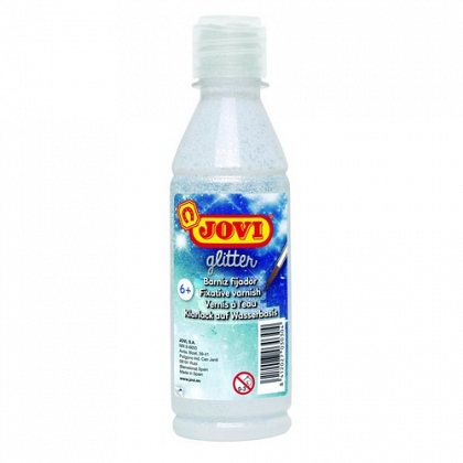 Barniz brillante fosforescente botella 250 ml. Jovi