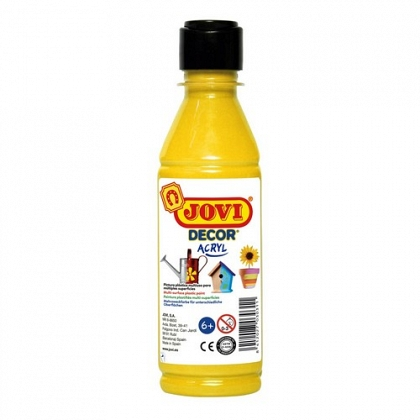 Pintura multisuperficie botella 250 ml. color oro JOVIDECOR
