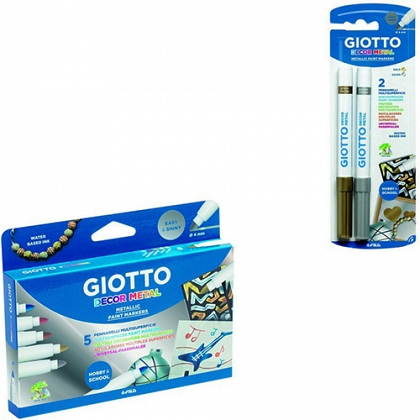 ROTULADOR METALIZADO DECOR METAL GIOTTO