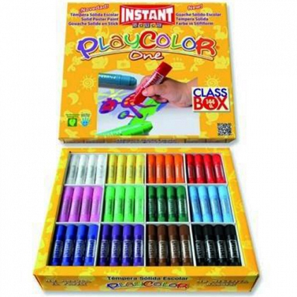 TEMPERA BARRA PLAYCOLOR ONE CLASS BOX
