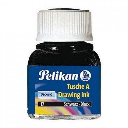 Tinta china frasco 523 10ml 18 blanco Pelikan